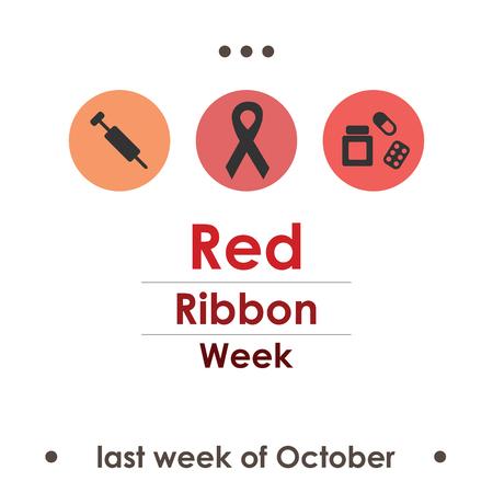 red ribbon week: October red ribbon week.