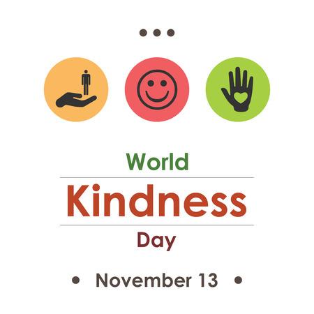 Jour de la gentillesse mondiale en novembre. Banque d'images - 85606595