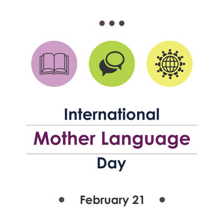 vector illustration / International Mother Language Day Illustration