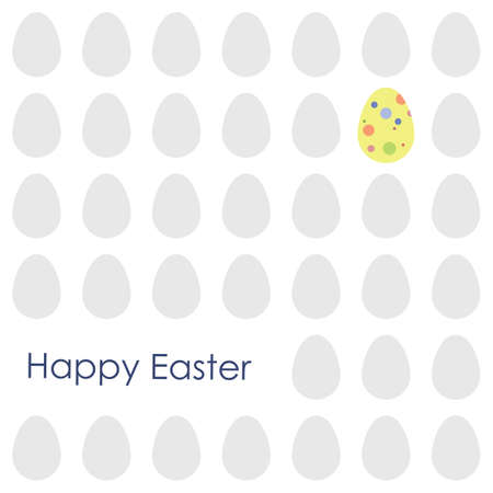 vector illustration / happy easter design Illustration