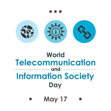 vector illustration / World Telecommunication and Information Society Day