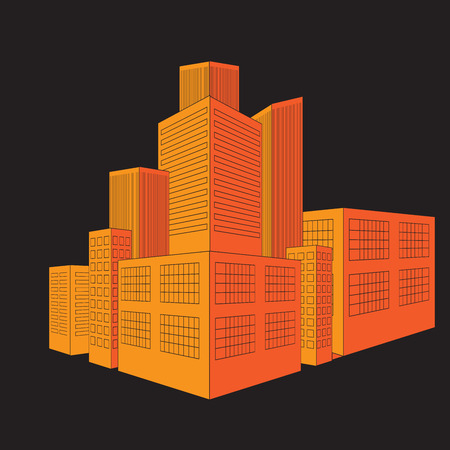 city: Building  city