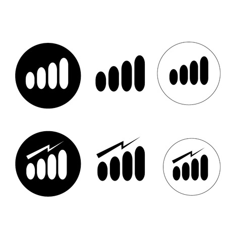strength: Signal strength indicator template