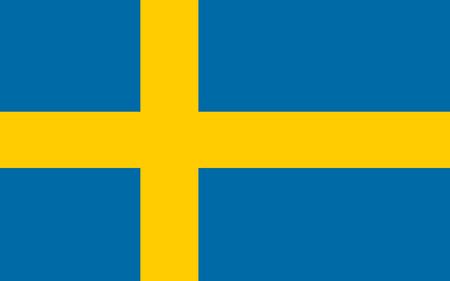 bandera de suecia: Bandera Suecia