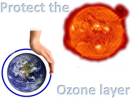Take care of the ozone layer