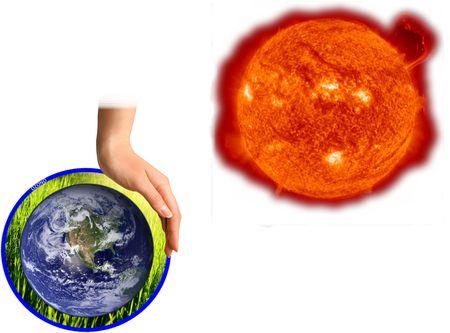 Ozone layer protection Reklamní fotografie