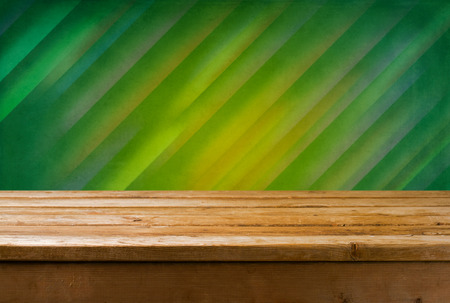 diagonal lines: Background with wooden table and diagonal lines wallpaper Stock Photo