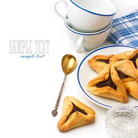 hamantaschen: Hamantaschen cookies for Jewish festival of Purim