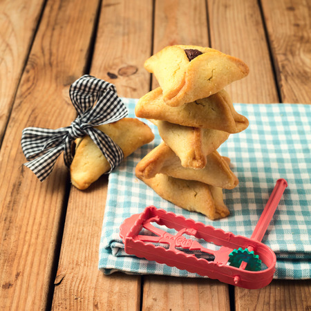 Hamantaschen cookies for Jewish festival of Purim