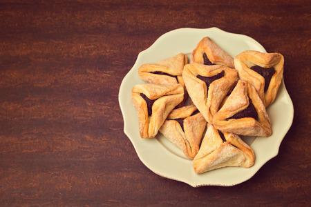 haman: Haman ears cookies for Jewish festival of Purim