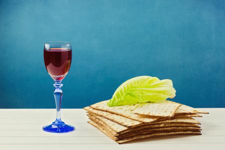 matzoth: Jewish passover holiday celebration