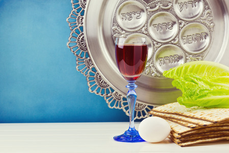 Jewish Passover holiday celebration