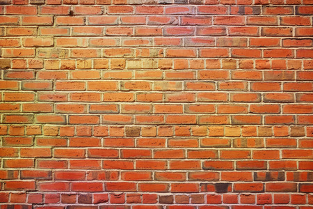 materia: Red brick wall  Stock Photo