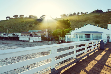 malibu: Malibu Pier, Malibu, California, USA