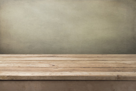 deck: Vintage wooden table background