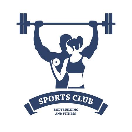 saludable logo: Fitness y Culturismo club