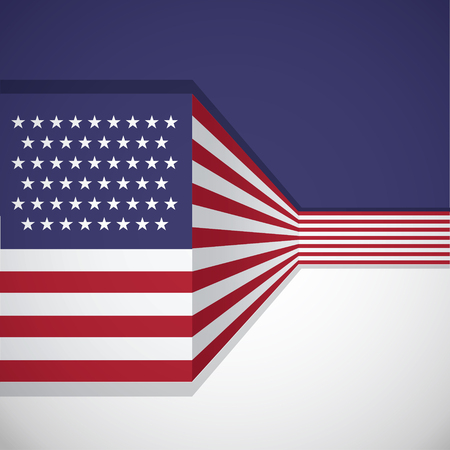 patriotic background: Vector background with USA flag