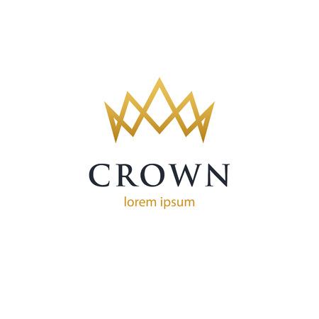 Crown geometric logo.