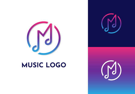 Music  with M letter.