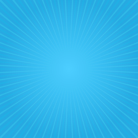 blue man: Blue gradient background and light rays. Stock Photo