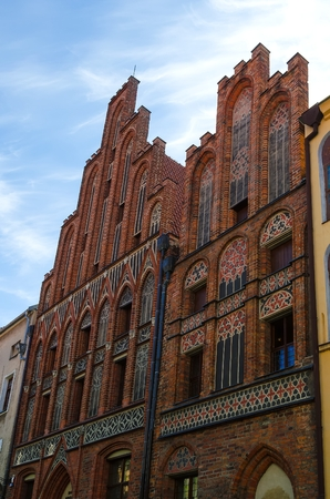 copernicus: The Copernicus Museum in Torun, Poland. Gothic house where Nicolaus Copernicus was born, nowadays museum of Copernicus - the greatest Polish astronomer. One of the medieval monuments in Old Town listed by UNESCO organisation.