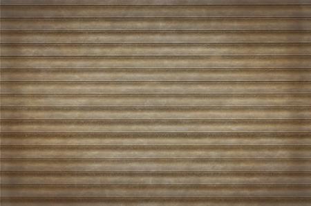 aluminium: Sheet metal texture. Aluminium roller blind background.