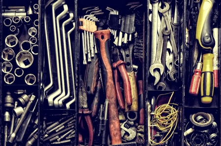 mechanic tools: Tool Box.