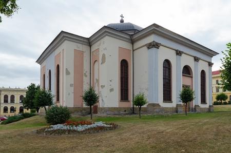 evangelical: LEVOCA, SLOVAKIA - AUGUST 18, 2015: The Evangelical Church in Levoca, Slovakia. Editorial