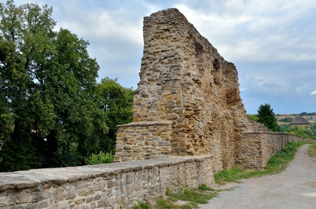 fortification: Old medieval fortification in Levoca, Slovakia.