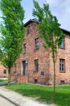 oswiecim: OSWIECIM, POLAND - MAY 12, 2016: Concentration camp Auschwitz-Birkenau in Oswiecim, Poland. Editorial