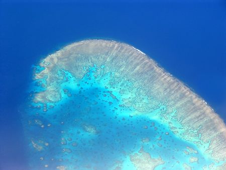 Barrier reef from the Air 2     photo