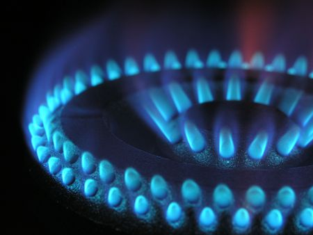 Gas flame ring 3 photo
