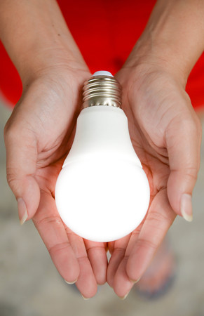 led bulb: LED bulb - Energy in our hand with lighting