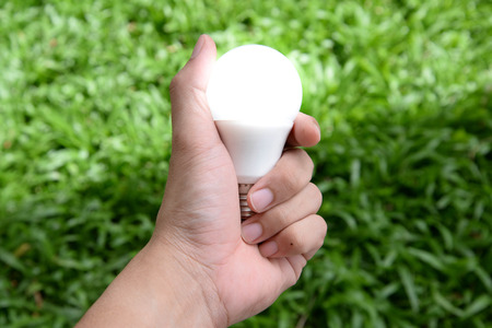 led: LED bulb - Energy in our hand with lighting