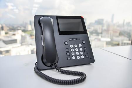 IP-Telefon - Technologie der Kommunikation Standard-Bild - 48710395
