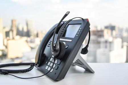 Headset und das IP-Telefon