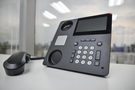 IP-Telefon - Neues Bürotelefon-Technologie Standard-Bild - 50367761