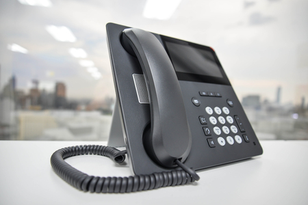 phone receiver: IP Phone - New office phone technology