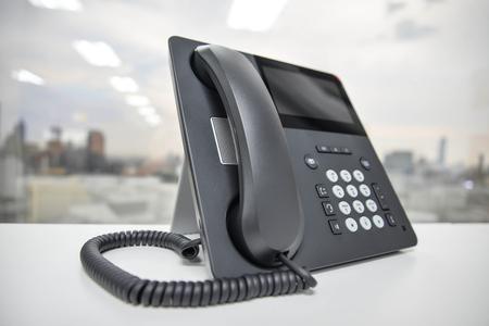 IP-Telefon - Neues Bürotelefon-Technologie Standard-Bild - 50367762