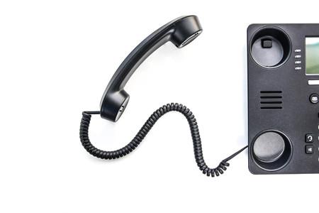 IP-Telefon - Neues Bürotelefon-Technologie Standard-Bild - 50367783