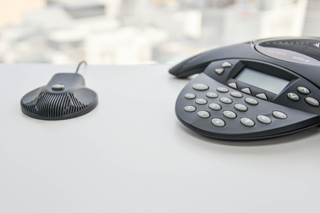 teleconference: IP Phone for conference
