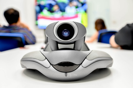 long distance: Video conference for long distance communication