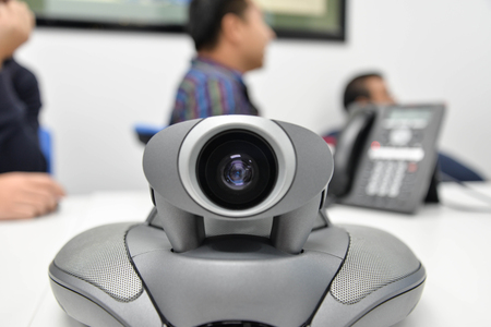 ip cam: Video conference for long distance communication