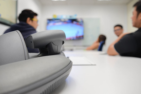 ip camera: Video conference for long distance communication