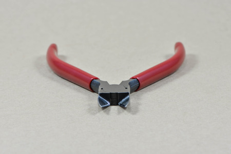 Plastic Nippers, Red Pliers