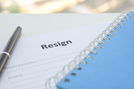 resignation: Draft of Resignation Letter