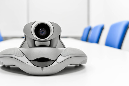 mobile voip: Video Conference Device in the meeting room for teleconference