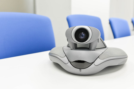 ip cam: Video Conference Device in the meeting room for teleconference