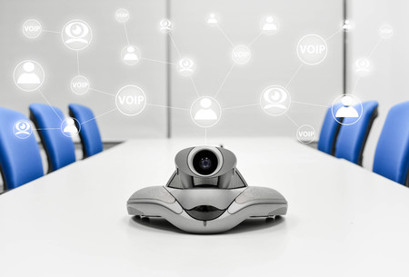 ip cam: Video Conference Device in the meeting room is connected to other device