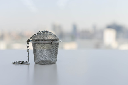 Tea strainer made from stainless